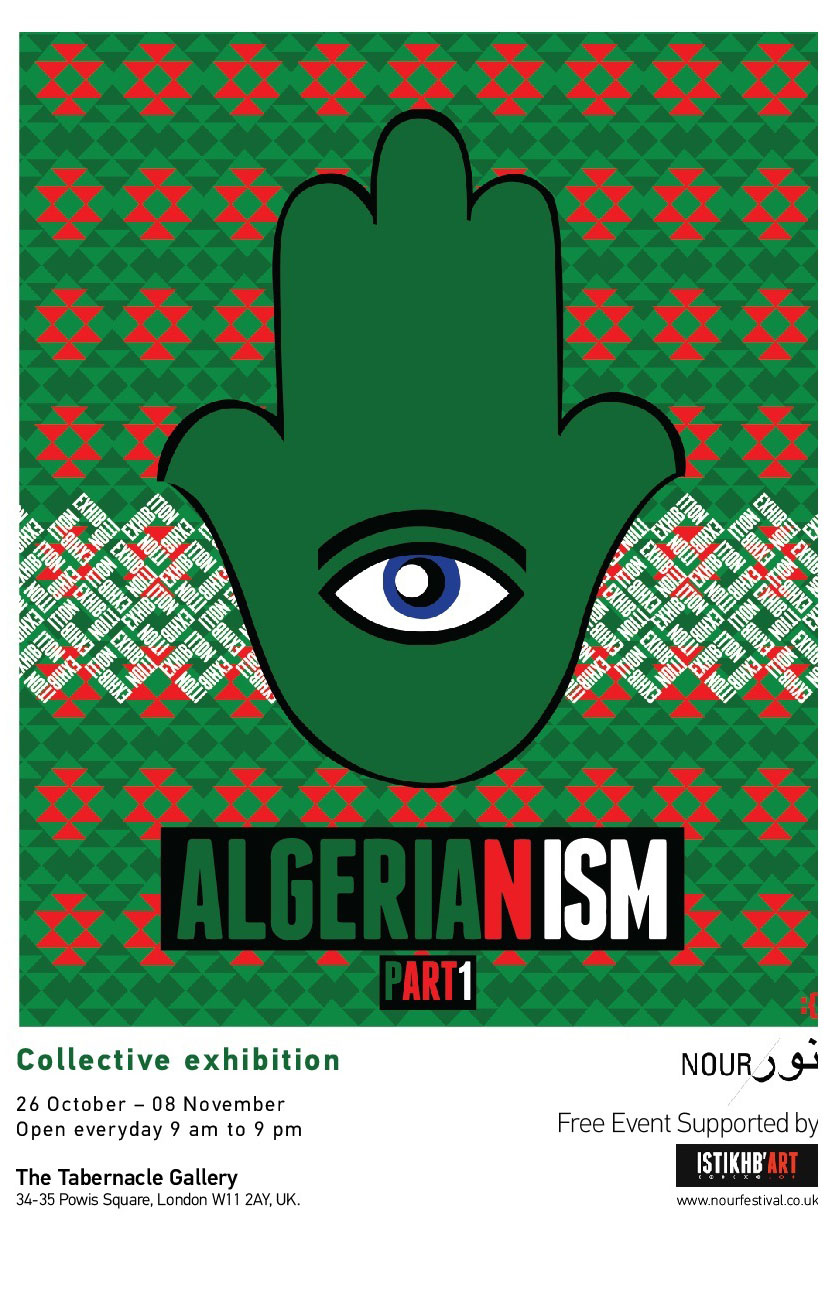 Algerianism Private View recto